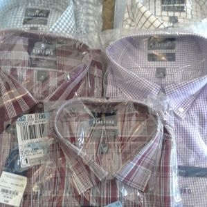 Other - Brand new 7 count lot Stafford shirt size 18
